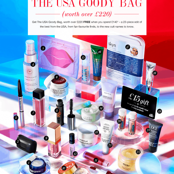 Cult Beauty Goodie Bag Autumn 2019 has arrived!