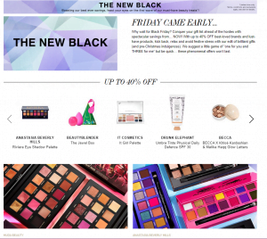 Black Friday sales in the beauty world…the struggle is real!