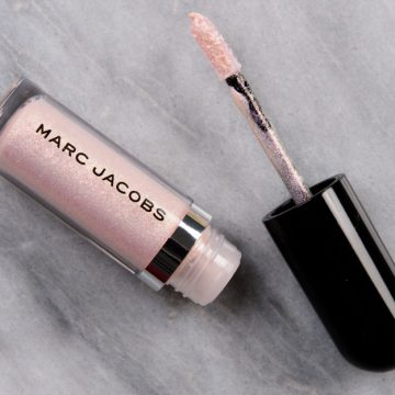Marc Jacobs Beauty Moonstoned, Gleam Girl, Topaz Flash See-quins Liquid Eyeshadows Reviews & Swatches