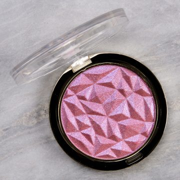 Milani Pink-aroo Ludicrous Lights Duo Chrome Highlighter Review & Swatches