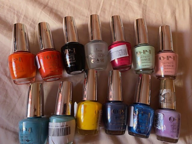 OPI Infinite Shine Nail Polish Review