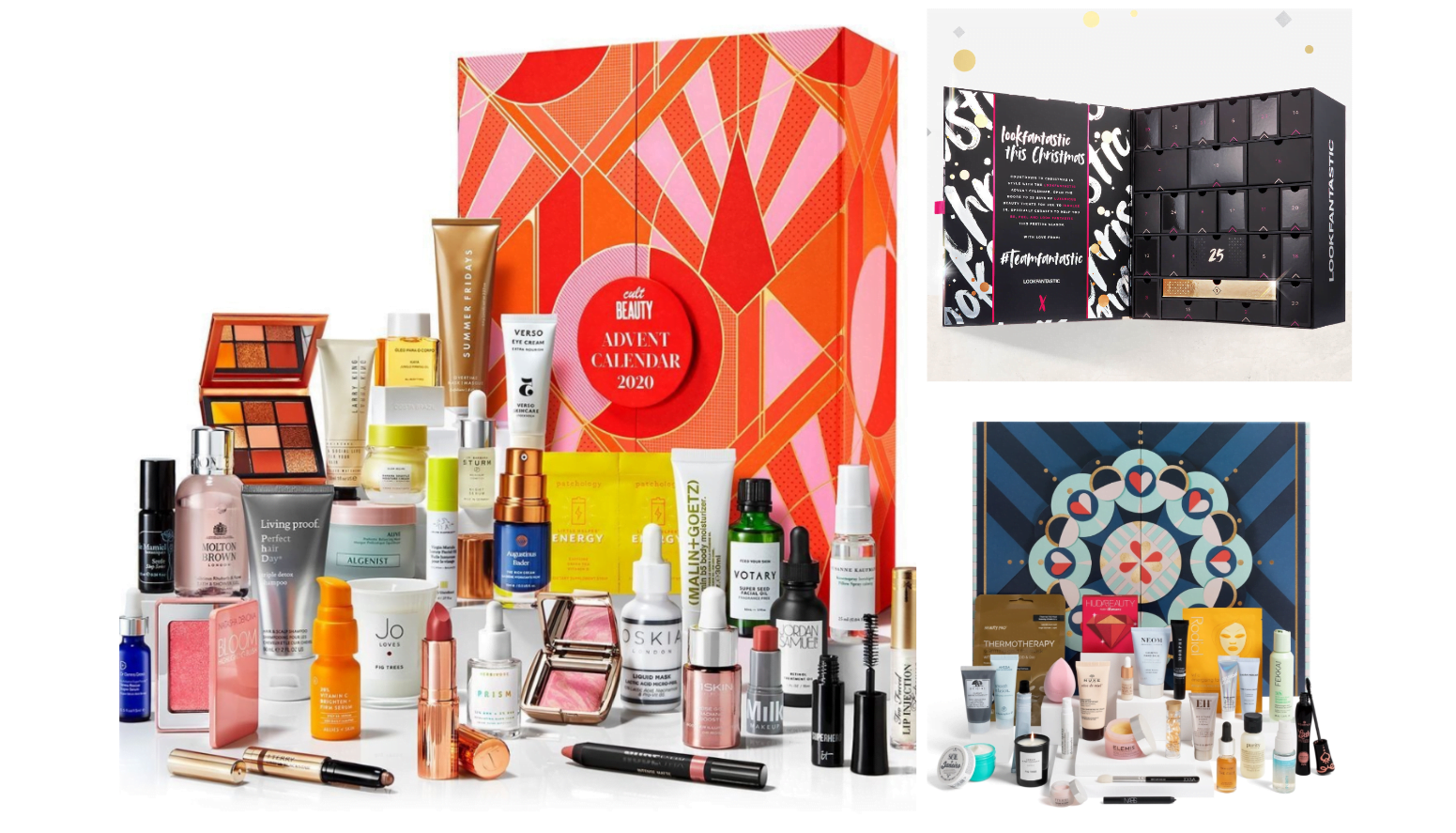 TOP 3 BEAUTY ADVENT CALENDARS 2020