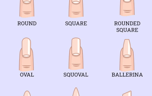 9 nail shapes and how to pick the most flattering one for you