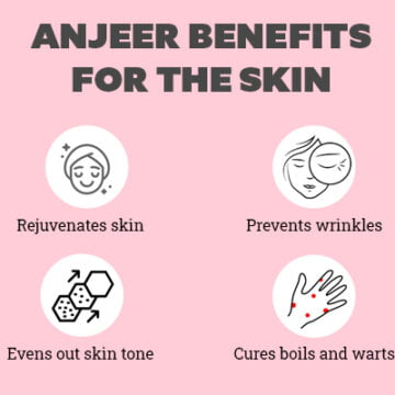 Anjeer benefits for skin, hair and health that you didn't know about